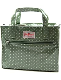 5e4c7d29d2d9 Cath Kidston Box bag Ladies Handbag Mini Dot sage green green with white  dots oilcloth with