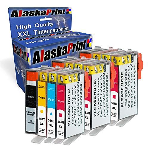 Alaskaprint 12x Druckerpatronen kompatibel für HP 364XL HP 364 XL mit HP Photosmart 5510 5511 5512 5514 5515 5520 5522 5524 6510 6520 6512 6515 7510 7520 7515 B8550 (Hp 5512 Photosmart)