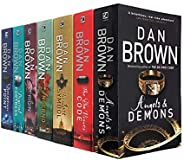 Robert Langdon Series Collection 7 Books Set By Dan Brown (Angels And Demons, The Da Vinci Code, The Lost Symb