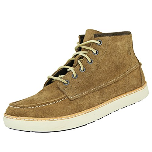 Timberland Men's Earthkeepers¨ Hudston Moc Toe Chukka Lace-Up Boots brown Size: 7