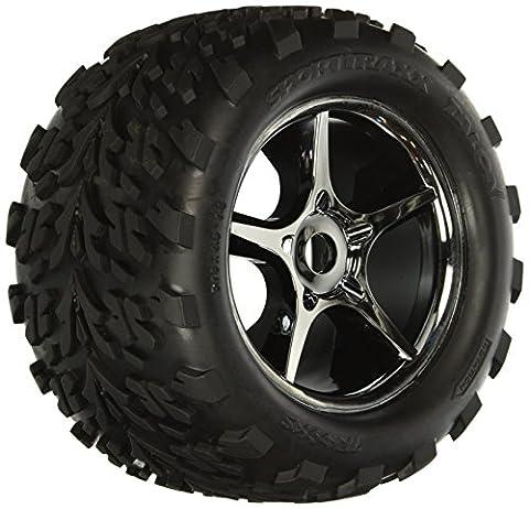 Felgen+Reifen montiert für E-Revo, E-Maxx