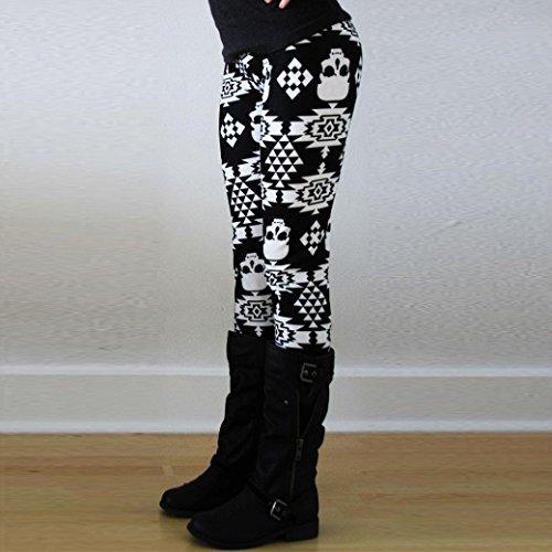 Ouneed® Femme Imprime Legging en Polyester I