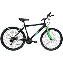 """Discovery DP069 - Bicicleta Montaña Mountainbike B.T.T. 26"""". Cambio fricción 18 Velocidades. Para hombre, color negra"""