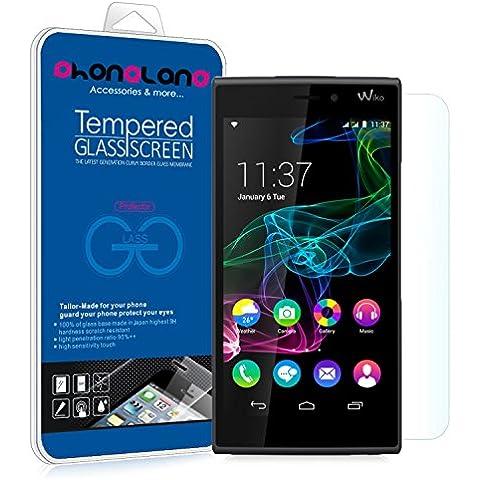 Film Protector pantalla de cristal templado Premium para Wiko U Feel Lite
