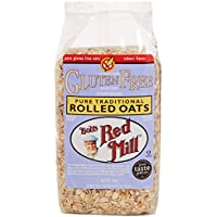 Bob's Red Mill Gluten Free Wholegrain Pure Rolled Oats 400 g (Pack of 4)