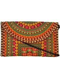 Utsav Women's Multicolour Sling Bag (Utsav 109)