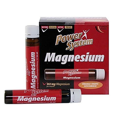 Power System Magnesium Liquid + Vitamin C 20 x 25ml Ampullen
