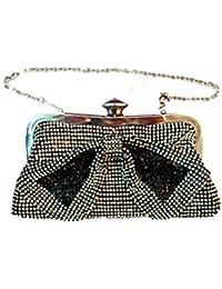 1stAmerican Pochette donna elegante con brillanti borsa a mano