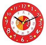 ELC Teaching Clock - Red