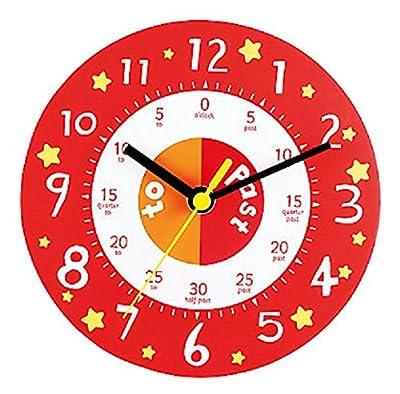 ELC Teaching Clock - Red