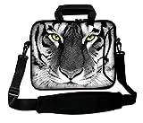 LUXBURG® 17,3 Zoll Schultertasche Notebooktasche Laptoptasche Tasche mit...