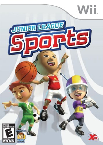 Junior League Sports Nintendo Wii (Wii-spiel-sport)