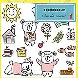 Doodle Libro da colorare: Libro da colorare per adulti e bambini / Un libro da colorare / Relax e ispirazione