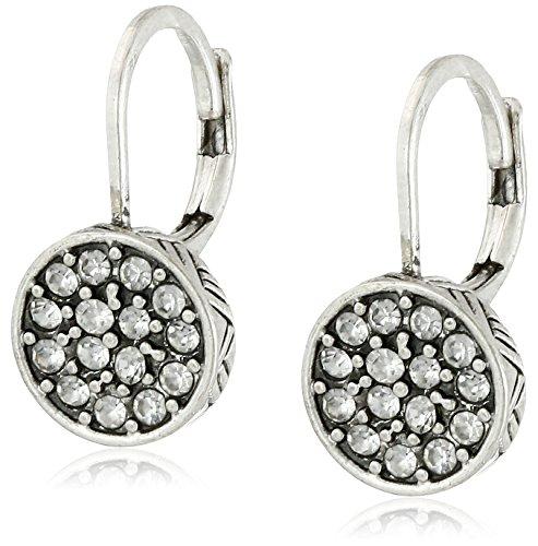 the-sak-pave-circle-silver-drop-earrings