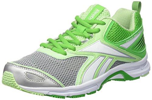 Reebok Triplehall 5.0, Zapatillas de Running Para Mujer, Verde/Blanco/Gris (Bright Green/Seafoam Green/White/Silver), 37 EU