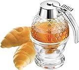 Honigbirne DELUXE 200ml Contenitore per miele in vetro