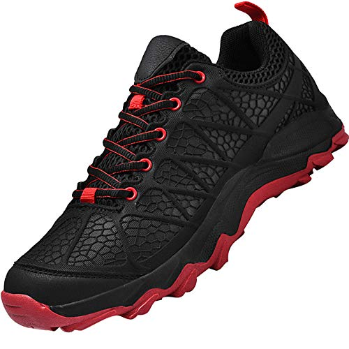 Uomo Sportive Corsa Trail Running Sneakers Fitness Casual Basse Trekking Estive Running all'Aperto