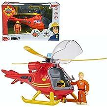 Sam El Bombero - Fireman Sam - Rescate de Montaña Helicóptero con Carácter Tom y Luz y Sonido