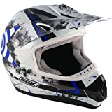 Box Casco MX-5 Target ORANGE OFF ROAD MOTOCROSS