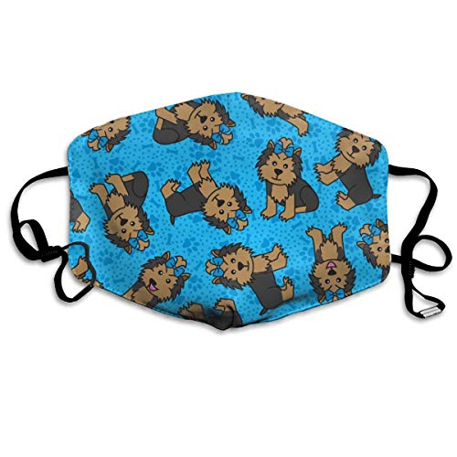 Sexy Kostüm Vader - Yorkie Party (Blue) Anti Dust Mask Anti Pollution Washable Reusable Mouth Masks