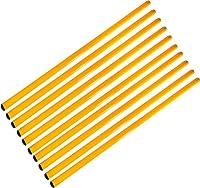 agility sport pour chiens - lot de 10 jalons, longueur 100 cm, Ø 25 mm, jaune - 10x 100y