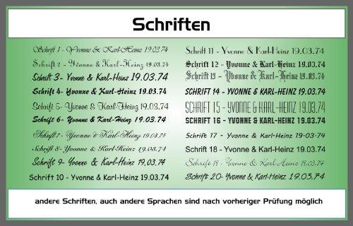 Kreuz mit Engel 'Ich Bin .' Kinderkreuz Holzkreuz Schutzengel 102862 mit Gravur (Rückseite) - 2