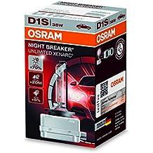 Quemador de xenón XENARC NIGHT BREAKER UNLIMITED D1S HID de OSRAM, lámpara de descarga, 66140XNB, estuche (1 unidad)