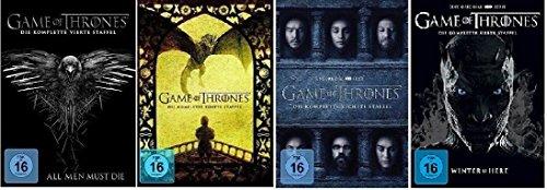 game of thrones 6 staffel Game of Thrones Staffel 4-7 (4+5+6+7) [DVD Set]
