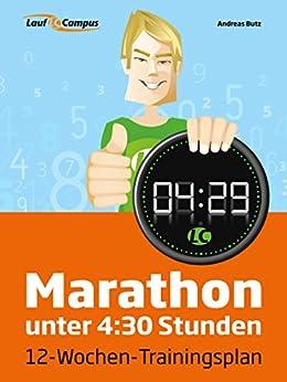 Marathon unter 4:30 Stunden