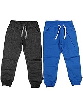 MINYMO Jungen Hose Basic 36 -Sweat Pant (2-pack)
