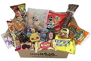 20 pcs bonbons japonais délicieuse du Japon DAGASHI set assortiments de confiseries cadeaux japanese candy chips