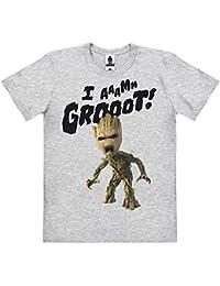 Logoshirt - Marvel Comics - Pelicula - Guardianes de la Galaxia - Groot - Estoy Groot