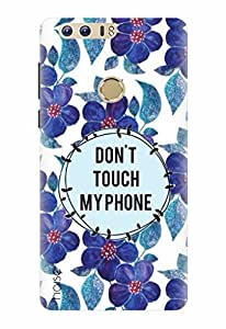 Noise Designer Printed Case / Cover for Huawei Honor 8 / Nature / Dont Touch My Phone