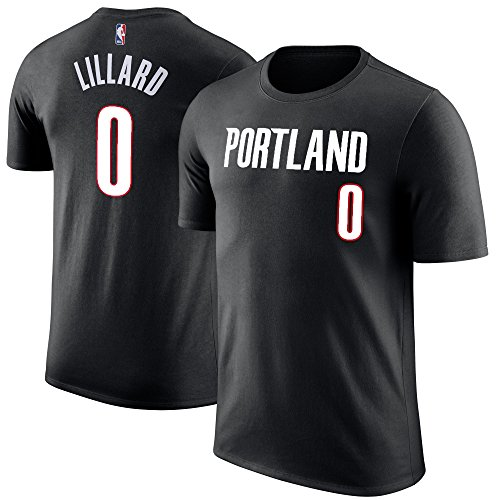 Outerstuff NBA Youth Performance Game Time Team Farbspieler Name und Nummer Trikot, Jungen, Damian Lillard, X-Large