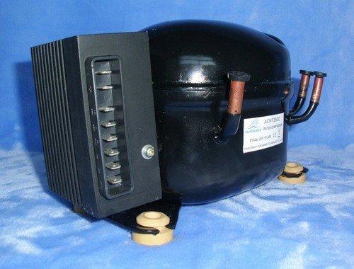 Gowe 12V-24V DC Kompressor, Mini Kompressor, für tragbare Kühlschrank, Fahrzeug Kühlschrank, an die meisten 150L Kühlschrank