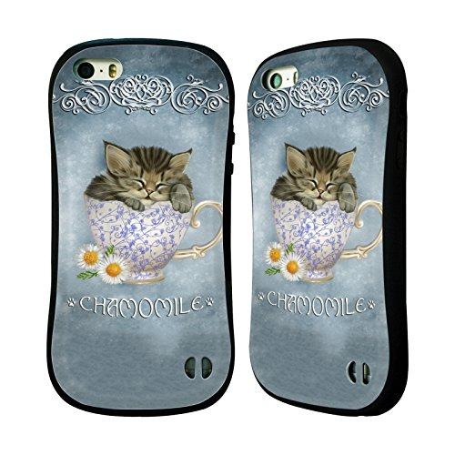 Ufficiale Ash Evans Zucca Speziata Latte Gatti Su Tazze Case Ibrida per Apple iPhone 7 Plus / 8 Plus Camomilla