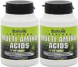 (2 Pack) - HealthAid - Free Form Multi Amino Acids | 60