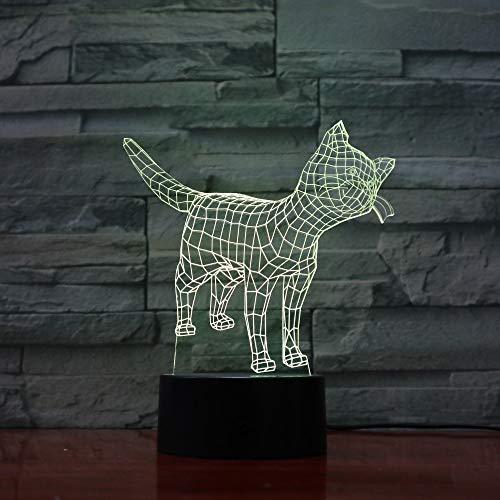 Lámpara de ilusión LED 3d Luz de noche/lámparas de escritorio de mesa/iluminación...