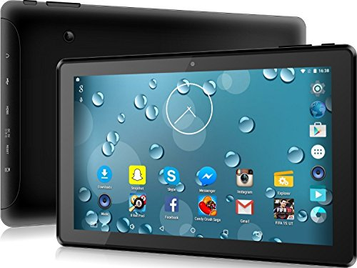 """Price comparison product image 10.1"""" inch Tablet PC, Quad Core Android 5.1 - 1GB RAM + 16GB Memory, 64GB External Storage - HDMI, GPS, WiFi, Bluetooth 4.0 - HD 1024x600 - Sky Go, Netflix Compatible!"""