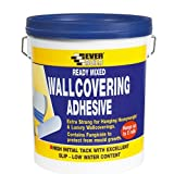 Everbuild WALLRD4 Ready Mixed Wallcovering Adhesive 4.5Kg
