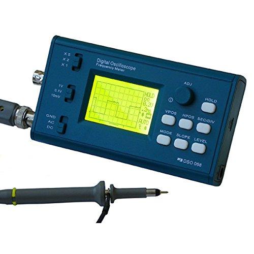 ILS - Original DSO068 DIY Oszilloskop-Ausrüstung mit digitalen Speicherfrequenzmesser ATmega64 AVR Microcontrol