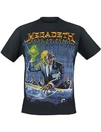 Megadeth Rust In Peace (Anniversary) T-shirt noir