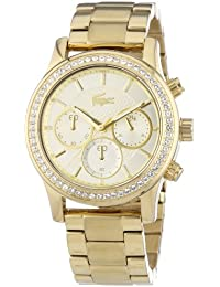 Lacoste Damen-Armbanduhr Analog Quarz Edelstahl 2000835