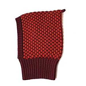 Kindermütze Schlupfmütze Strickmütze Schalmütze aus 100% Merinowolle für Mädchen Jungen Babys