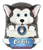 Dujardin - 22105 - Cali Pet's, Cagnolino peluche che si raggomitola, 35 cm