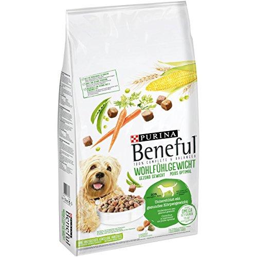 Purina Beneful Hundetrockenfutter Wohlfühlgewicht (mit Huhn, Gartengemüse und Vitaminen) 12kg Sack -