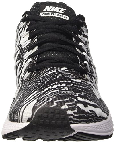 Nike Air Zoom Pegasus 32, Running Homme Noir (Black/White)