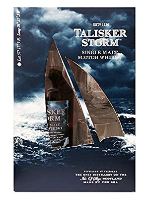 Talisker Storm Scotch Whisky plus 2 Glasses Gift Pack