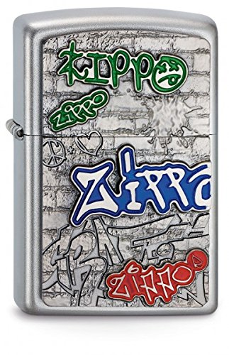 Zippo 2003538 Feuerzeug 205 Graffiti Emblem
