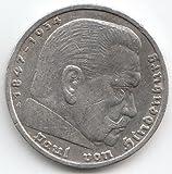 Deutsches Reich Jägernr: 360 1935 G sehr schön Silber 1935 5 Reichsmark Hindenburg (Münzen für Sammler)